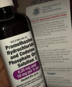 Buy Tris Promethazine With Codeine